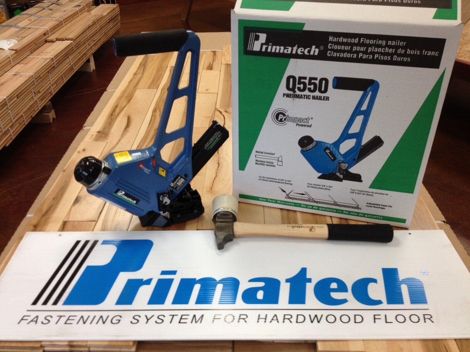 Primatech Q550 18 GA Pneumatic Adjustable Flooring Nailer | eBay