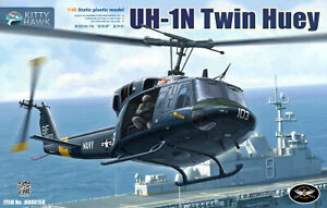 KH80158-1-48-Kitty-Hawk-UN-1N-Model-Building-Kit-2019-May-Released