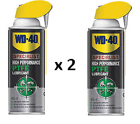 2-x-WD40-Specialist-PTFE-Grease-Lubricant-400ml-Penetrant