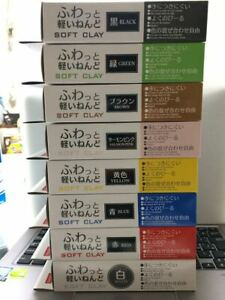 DAISO-JAPAN-SOFT-CLAY-8-Color-Lot-DIY-Hand-Craft-Made-in-JAPAN-Butter-Slime