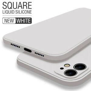 For-iPhone-11-Pro-Max-XS-XR-X-8-7-6s-Plus-Square-Liquid-Silicone-Soft-Case-Cover