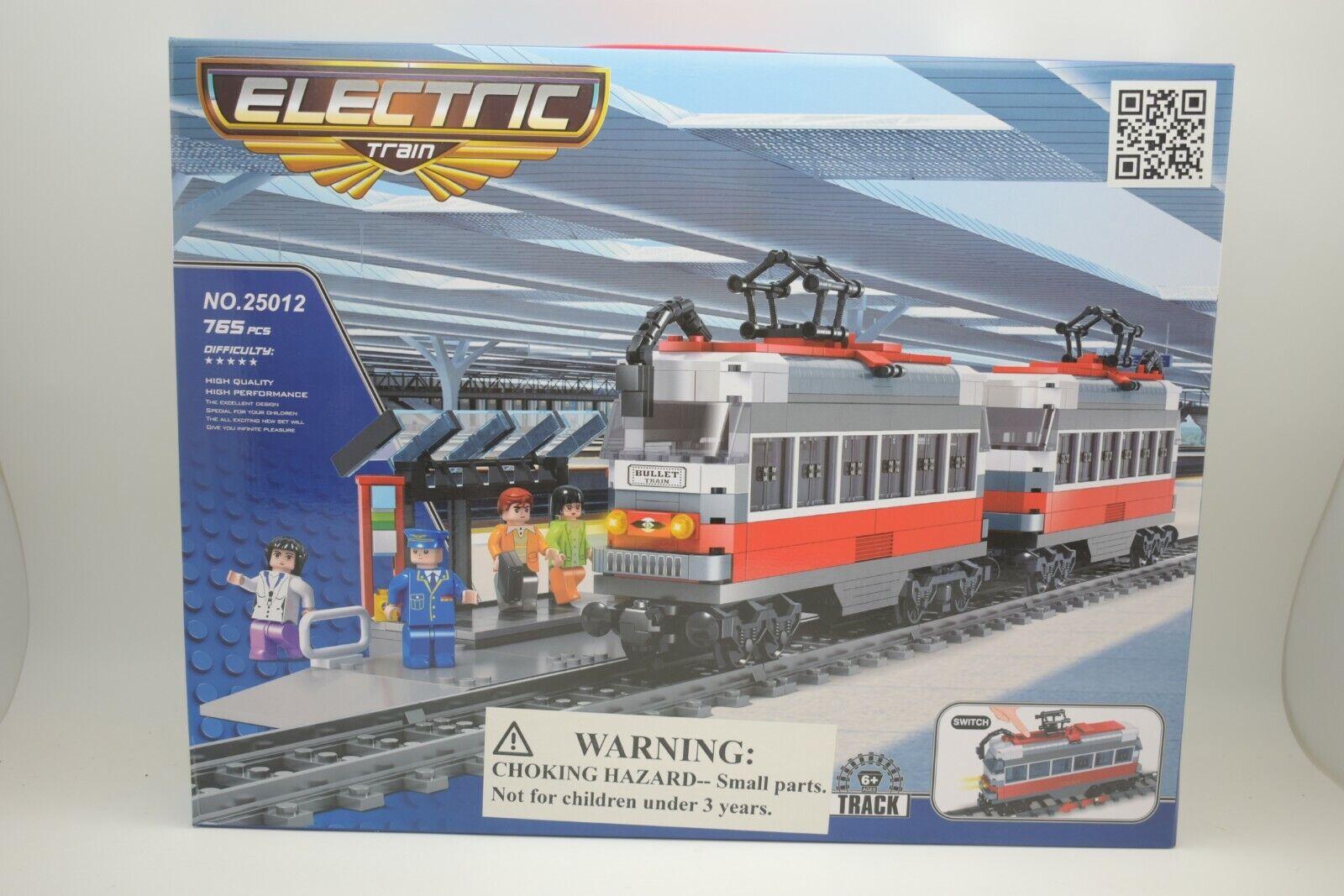AUS25012 Imex Elettrico  Deluxe Set Treno 765 Pezzi Bullet Passeggeri W Stazione  risparmia fino al 50%