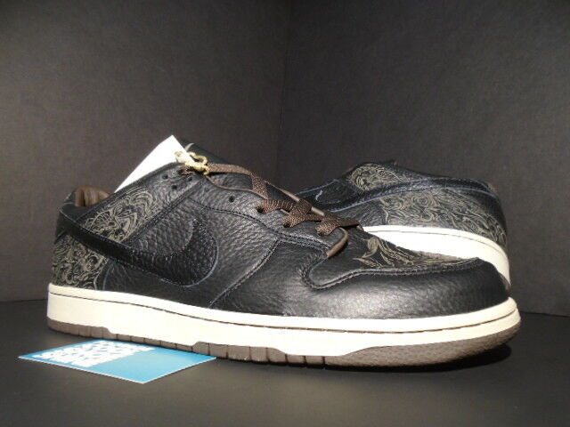 2018 MICHAEL Nike Dunk bajo DESMOND LASER Pack Negro Marrón MICHAEL 2018 BLANCO 308429001 DS 12 81c0eb