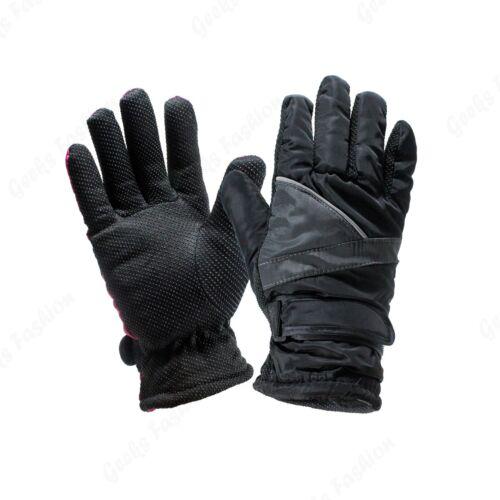 Womens Winter Warm Thermal Anti Slip Ski Gloves Snowboard Gloves Driving Gloves