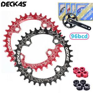 DECKAS-96bcd-32-38T-Narrow-Wide-MTB-Road-Bike-Chainwheel-Chainset-Chainring