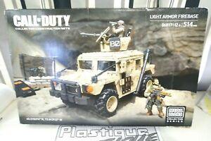 MEGA Bloks Call of Duty Light Armor Firebase 06817 COMPLETE BOXED COD LEGO