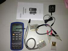 New U822c Handheld Digital Lcr Meter Tester 100hz 120hz 1khz 10khz 100khz