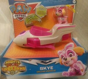Mighty Pups Super Paws Deluxe Vehicle Skye brand new! Paw Patrol