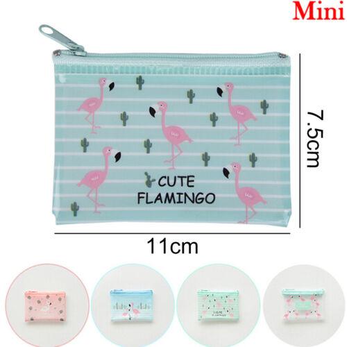 Flamingo File Bag Dokumententasche Schule Bürobedarf Mesh Datei Ordner TaschDDE