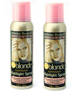 Jerome-Russell-B-blonde-Temporay-Highlight-Spray-STRAWBERRY-BLONDE-TWO-PACK
