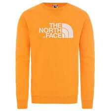 The North Face Felpa Girocollo Uomo Drew Peak Arancione Codice 2ZWR-ECL - 9M