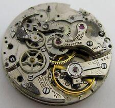 Bulova 13AH valjoux 23 * 2 Registers * no incablocs. incomplete watch