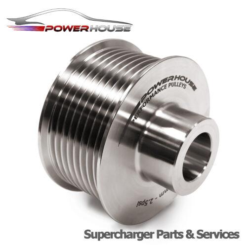 approx. 1.13 kg Range Rover 4.2 Sobrealimentador 10/% Superior POLEA Actualización 2.5 lb De Acero Inoxidable