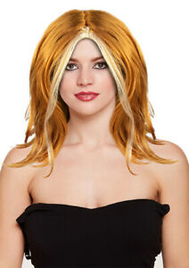 Girls-Ginger-Spice-Wig-90s-Fancy-Dress-Accessory-Pop-Star-Scary-Adults-Costumes