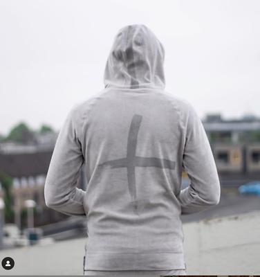 24uomo Streetwear Amsterdam´s Brand Hoody Sweat Nikki Samt Grey Uvp:99,95€ Gr.xl