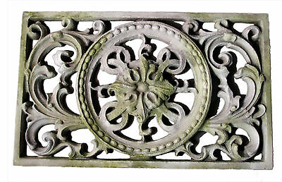 Architectural Remnant Outdoor Garden Wall Art Decor by Orlandi Statuary FS8738