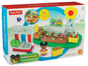 Wonderful Image Is Loading Fisher Price Little People Farm Garden Amp Stand  Home Design Ideas