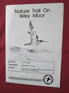 Nature-Trail-on-Ilkley-Moor-by-Wharfedale-Naturalists-Society-laminated-amp-folded