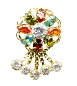 Engagement-Nose-Stud-14K-Real-Yellow-Gold-Dangle-Piercing-Push-Pin-nose-ring-18g