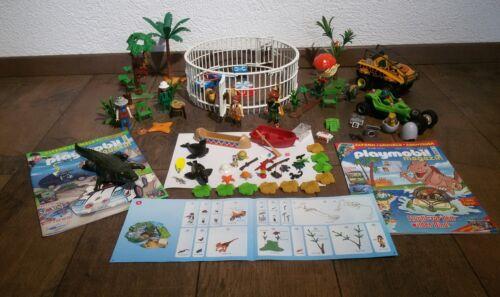 Playmobil*Zirkus*plus Jurassic Park Zubehör*ohne OVP*viele Teile*