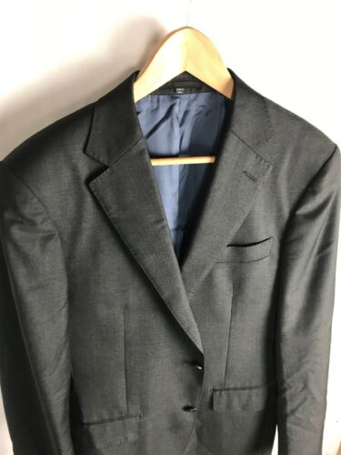 Suit Supply Vitale Barberis Super 110s Charcoal Gr