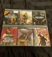 Lot of 6 PS3 Games: Battlefield 3, Modern Warfare 2, Black Ops and more!