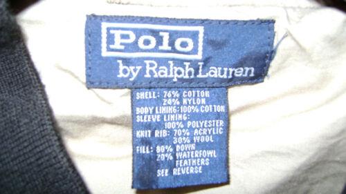 Xl Lauren Quilted Taglia Ralph Black Giacca Man xq05SwvY