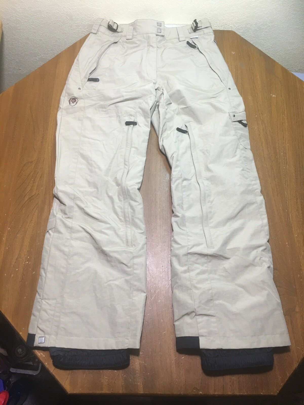 COLUMBIA Congreen  Women S Beige Waterproof Breathable Board Snow Pants Mint   cheap and high quality