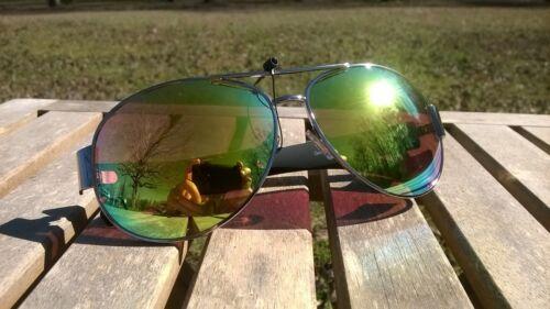 Maxx HD Sunglasses gold vision 16 aviator silver mirrored