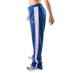 Women s PUMA T7 Track Pants Twilight Blue Purple size XL (T77)  50 ... 4f793a328