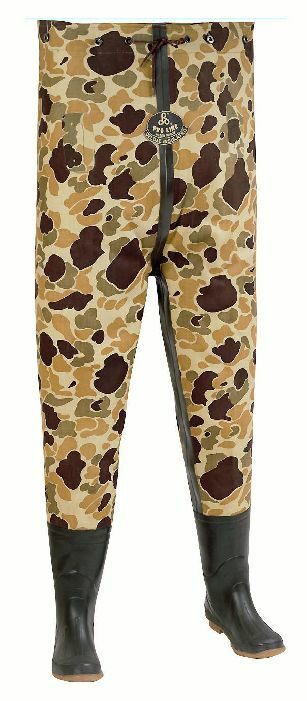 Proline 710-11 Camo 3-layer Canvas Insulated Waders Größe UK 11 15995