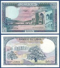 LIBANON / LEBANON  100 Livres 1988  UNC  P.66 d