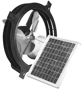 Image Is Loading Air Vent Inc 53560 Solar Ed Gable Attic