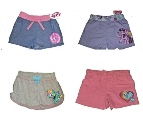Girls Shorts My Little Pony Rainbow Dash Twlight Sparkle Pinkie Pie   NWT