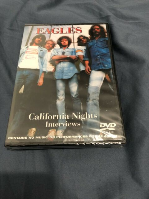 The Eagles - California Nights - Interviews (DVD, 2008)- NEW/SEALED