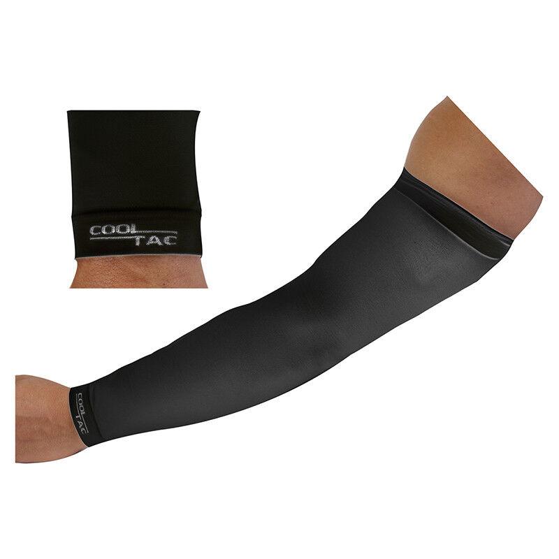 Cool Tac Arm Coolers Clothing Arm Cooler Cooltac Mens Md Bk