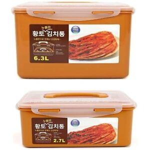 Korean Kimchi Container BPA FREE Vacuum Airtight 27L 63L HWANGTO