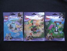 LEGO Friends Animal Set Series 6 41047 41048 41049 Seal, Lion Cub & Panda