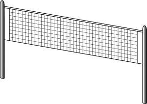RETE-BEACH-VOLLEY-PALLAVOLO-CORSPORT-MAGLIA-ESAGONALE-3-5-MM-MISURE-8-5X1-MT