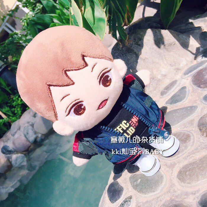 Hand-made Kpop EXO XOXO Park Chanyeol Doll Clothes Cute Blue Jacket Coat Gift Be