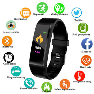 Smart-montre-Bracelet-Bracelet-etanche-frequence-cardiaque-BP-Moniteur-iPhone-Android