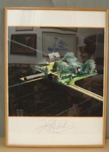 Original Igor Medredev (1931-2015) Water Color Painting Signed & Framed