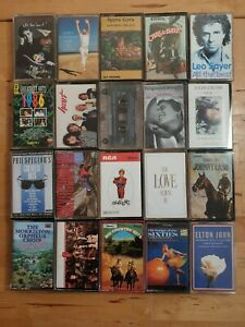 audio-music-cassette-tapes-bundle-joblot-x-20-as-pictured-mct01