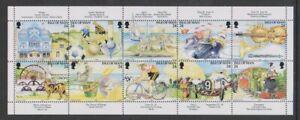 Ile-de-Man-1994-Manx-Tourisme-Feuillet-MNH-Sg-590-9