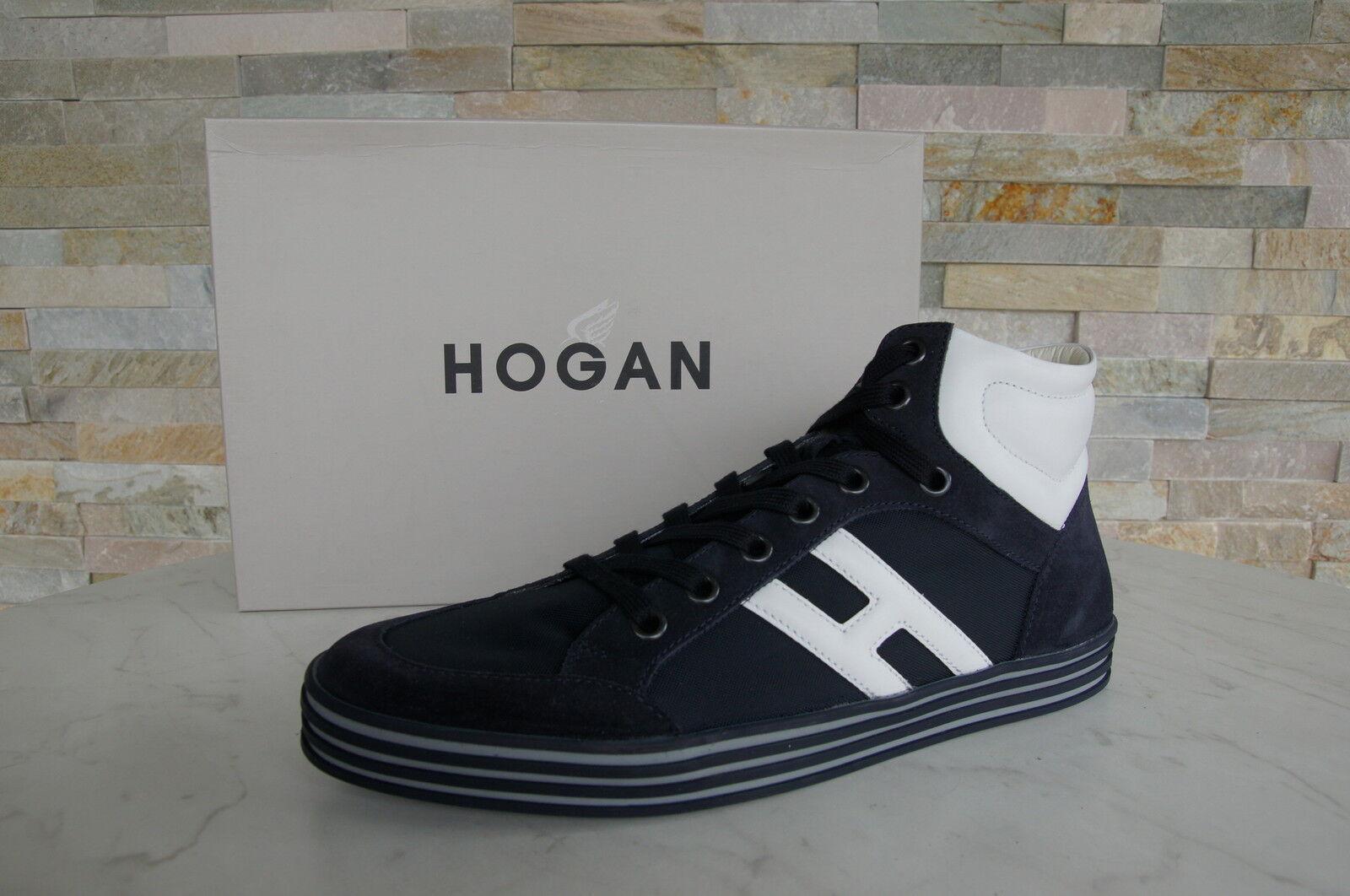 Hogan High-Top Zapatillas Zapatos de Cordones Zapatos Nuevo Antiguo