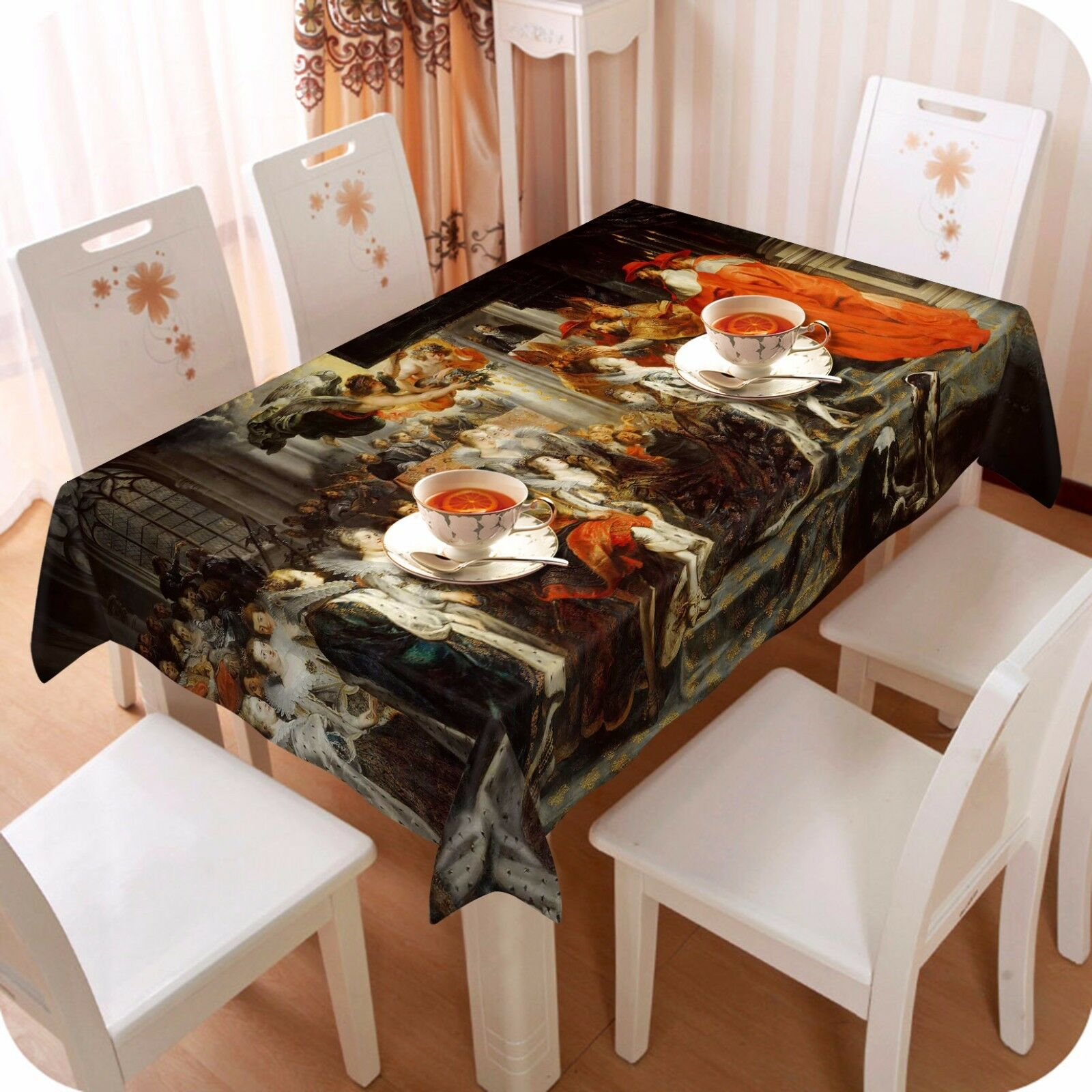3D Angel 482 Tablecloth Table Cover Cloth Birthday Party Event AJ WALLPAPER AU