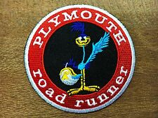New looney tunes ROADRUNNER Motor Oil Embroidered Iron On/Sew On Patch#07