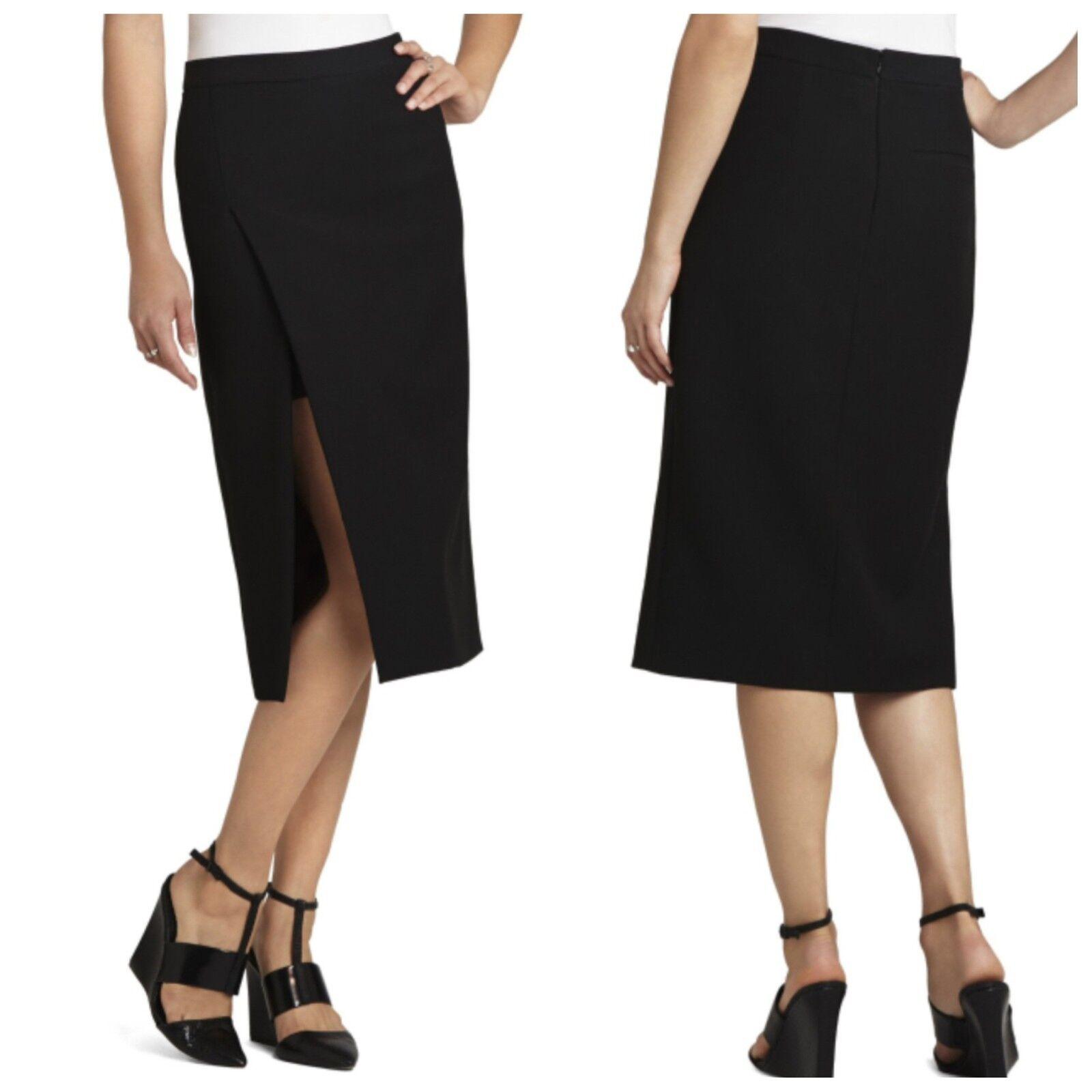 411d504cf5 BCBG Max Azria Black Grayce Pencil Skirt Izd3e809 Sizes 10 for sale ...