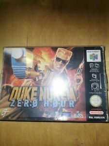 "Juego de Nintendo 64 "" Duke Nukem Zero Hour "" N64 ? OVP ? PAL MODULE NUEVO TOP***"
