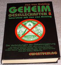 Geheimgesellschaften 2 - Jan van Helsing / gebundene Originalausgabe 1995